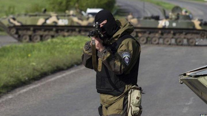 Forţele ucrainene au distrus o tabără a militanţilor proruşi, iar 250 dintre aceştia au fost ucişi