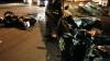 Accident groaznic pe strada Alba-Iulia. Un motociclist s-a izbit dur într-un automobil (FOTO/VIDEO)