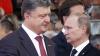 """Petro Poroşenko va discuta despre """"pace"""" cu Vladimir Putin la întrunirea de la Minsk"""