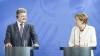 Angela Merkel şi Petro Poroşenko au avut o discuţie telefonică. Ce au convenit oficialii