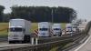 Convoiul umanitar trimis de Rusia spre Ucraina şi-a schimbat brusc traseul