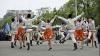 Început de săptămână în ritm de dans. Locuitorii oraşului Ungheni au sărbătorit hramul cartierului Dănuţeni
