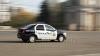 O maşină a Serviciului Pază a fost implicată într-un accident la Chişinău (FOTO)