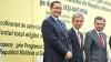 Ponta, Oettinger şi Leancă au proclamat la Ungheni independenţa energetică a Republicii Moldova