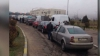 Unii şoferi au probleme cu benzina la trecerea vamei