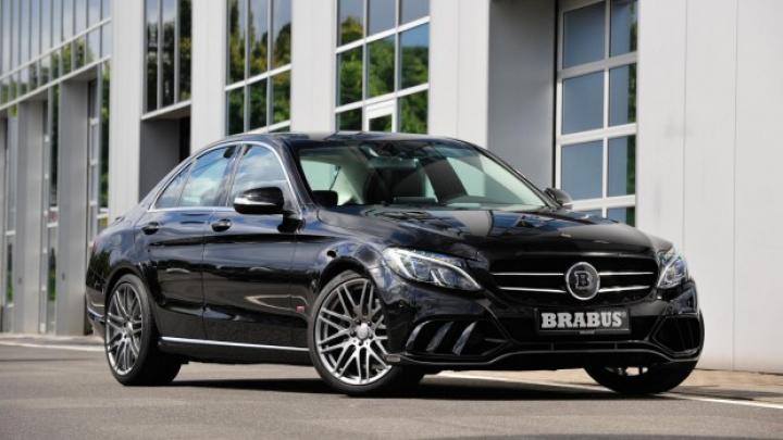 Tunerul Brabus modifică noul Mercedes C-Class (FOTO)