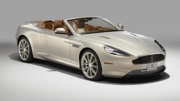 Aston Martin a creat o decapotabilă personalizată cu temă ecvestră care va fi scoasă la licitaţie în SUA