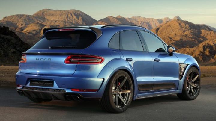 Viziunea unui atelier rus de tuning pentru estetica noului Porsche Macan (FOTO)