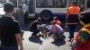 Accident în capitală! O femeie a ajuns la spital după ce fost lovită de un microbuz (VIDEO)