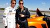 Cristiano Ronaldo a lăsat fotbalul şi a intrat în lumea curselor auto concurând cu un pilot Formula 1 (VIDEO)