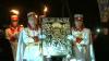 Icoană făcătoare de minuni, adusă la Căpriana. Mii de oameni s-au rugat pentru a scăpa de suferinţe (VIDEO)