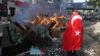 Protest violent la Istanbul după ce 10 oameni au murit pe un şantier de construcţii