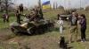 Mariupol s-a transformat în fortăreaţă. Oraşul-port se pregăteşte de un atac al separatiştilor