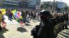 Capitala Serbiei a găzduit o paradă a homosexualilor. Manifestanţii au mărşăluit alături de poliţişti şi blindate