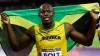 Usain Bolt a participat la un eveniment de promovare a Campionatului Mondial de atletism de la Beijing