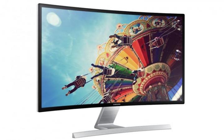 Samsung anunţă un monitor curbat cu design şi specificaţii de invidiat (FOTO)