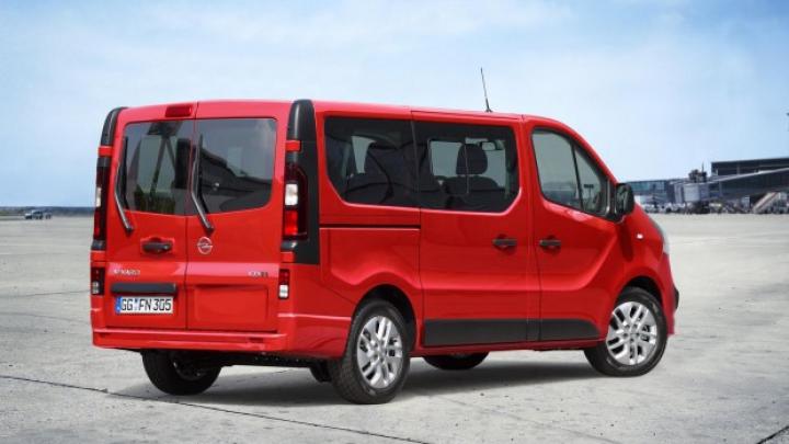 Noul Opel Vivaro primeşte o versiune pentru transportul pasagerilor (FOTO)