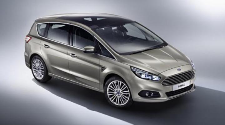 Compania Ford a prezentat primele fotografii oficiale cu noul S-MAX
