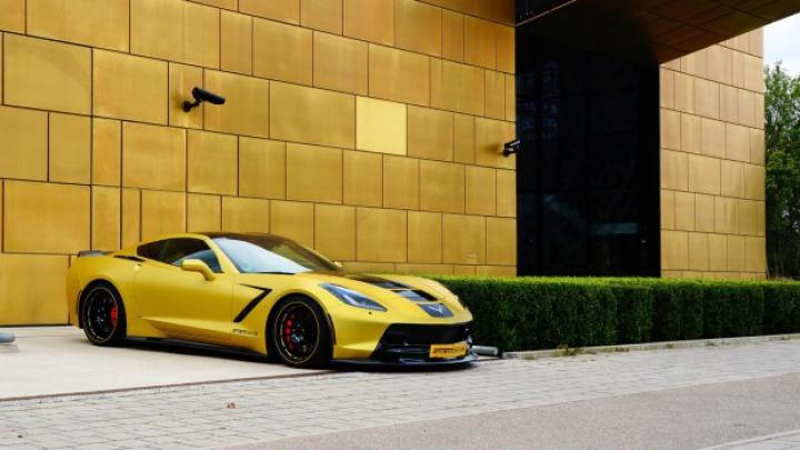 Chevrolet Corvette Stingray primeşte un tratament deloc ieftin de la un tuner german (FOTO)