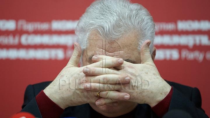 """LOVITURĂ GREA pentru liderul PCRM! """"Kremlinul a pus cruce pe politicianul Vladimir Voronin"""""""