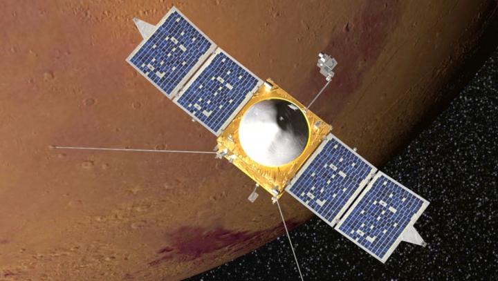 O sondă de pe Pământ se apropie de Marte. Care este scopul misiunii
