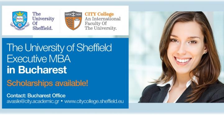 Vrei să fii mai bun, vrei să avansezi în carieră? MBA-ul Sheffield oferit la București poate fi soluția