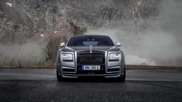 Novitec modifică radical limuzina Rolls-Royce Ghost (FOTO)