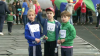 Circa o sută de elevi din liceele capitalei au alergat în scop caritabil. Suma donaţiei strânse va ajunge la familiile sărace