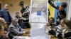 Partidul lui Iaţeniuk rămâne lider în alegerile din Ucraina, iar în estul ţării continuă luptele