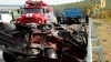 (VIDEO) Accidente tragice pe drumurile naţionale: O persoană a murit, iar altele nouă au ajuns la spital