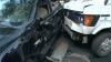 Un nou accident în capitală cu implicarea unui microbuz de linie. Vehiculul a intrat în coliziune cu un taxi