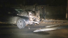 ACCIDENT GRAV la Vadul lui Vodă! Un şofer teribilist a intrat cu maşina într-un stâlp şi a dărâmat un gard (VIDEO)