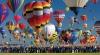 (VIDEO) Aerostatele au împânzit cerul în New Mexico în cadrul unui festival