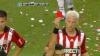 Ploaie de cartonaşe roşii la un meci de fotbal în Argentina. Cine a început bătaia
