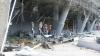 """IMAGINI CUTREMURĂTOARE! O fetiţă scapă vie ca prin minune după ce lângă ea se prăbuşesc ruine din """"Donbas Arena"""" (VIDEO)"""