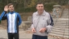 Dorin Chirtoacă a alergat în jurul lacului de la Valea Morilor, discutând politică cu un oficial european (VIDEO)