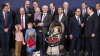 Herman van Rompuy şi-a adus nepoţii printre liderii europeni. Copiii au participat la poza de final
