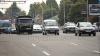 Accident evitat la limită în capitală! Manevra unui coleg din trafic l-a enervat la culme pe un şofer (VIDEO)