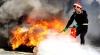 INCENDIU de proporţii în Capitală: Pompierii au găsit corpul neînsuflețit al unui bărbat
