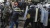 Violenţe la Kiev. Mai mulţi manifestanţi s-au luat la bătaie cu forţele de ordine