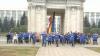 Un grup de tineri a lansat o reţea socială moldovenească în cadrul unui flash-mob (VIDEO)