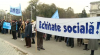Protest la Guvern. Un grup de profesori universitari a cerut salarii mai mari