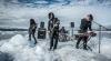 Rock pe aisberg! O trupă din Marea Britanie a cântat pentru câţiva pescari din Groenlanda