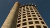 Acces restricţionat! Primăria Ialoveni închide turnul de pe care a sărit un copil de şase ani