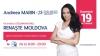 Mobilizare naţională fără precedent. Telemaratonul Renaşte Moldova, găzduit de Andreea Marin, a adunat sute de mii de lei
