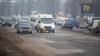 Ceaţa face ambuteiajele mai dense în Chişinău. Poliţia raportează 60 de accidente fără victime