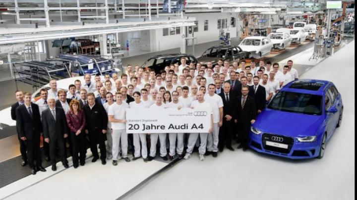Maşina care a făcut istorie. Audi a făcut un anunţ uimitor legat de modelul A4