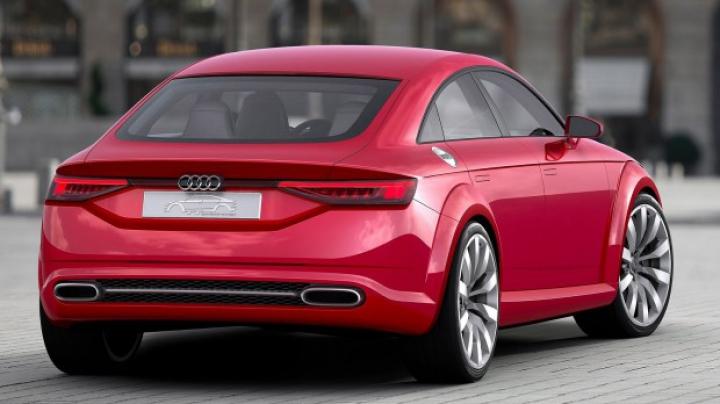 Paris 2014: Audi TT Sportback Concept previzualizează o nouă versiune de caroserie TT (FOTO)