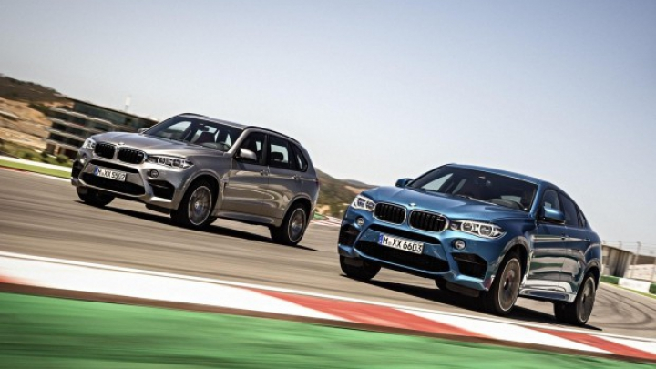 PREMIERĂ MONDIALĂ: BMW a prezentat noile X5 M şi X6 M (FOTO)