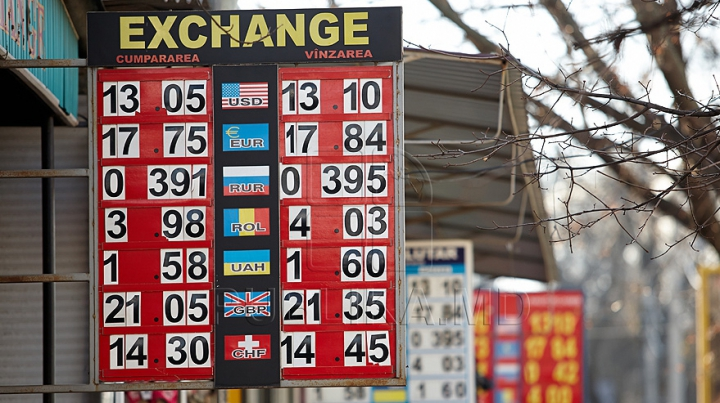 Câţi lei valorează un euro. Cursul valutar stabilit de BNM